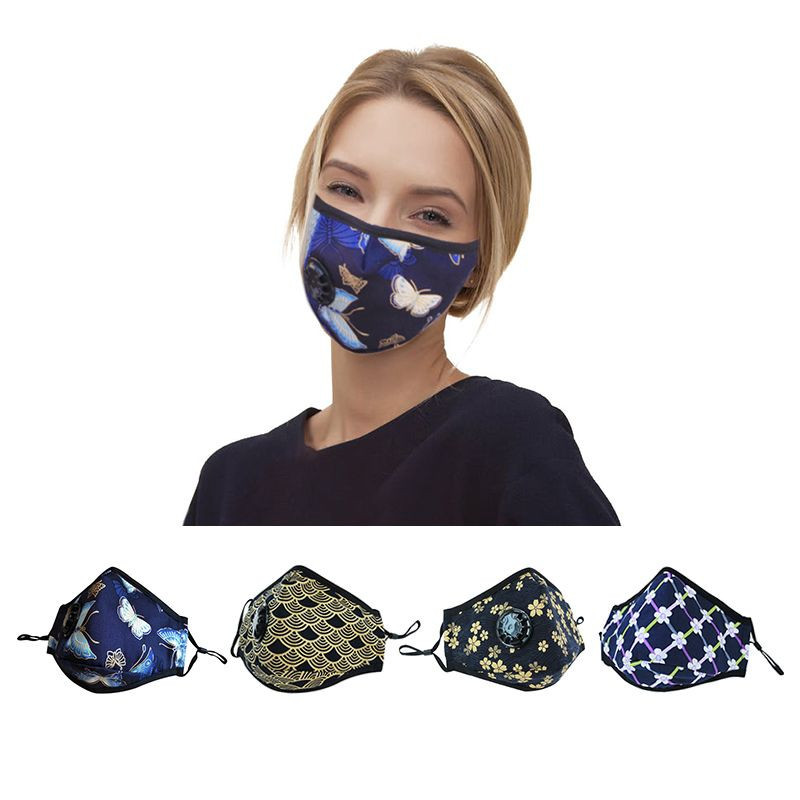 Dust mask washable cotton mouth face mask
