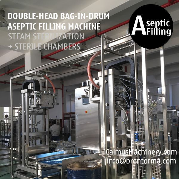 200-220L BIB Aseptic Filling System Double-head Bag in Drum Aseptic Filling Equipment