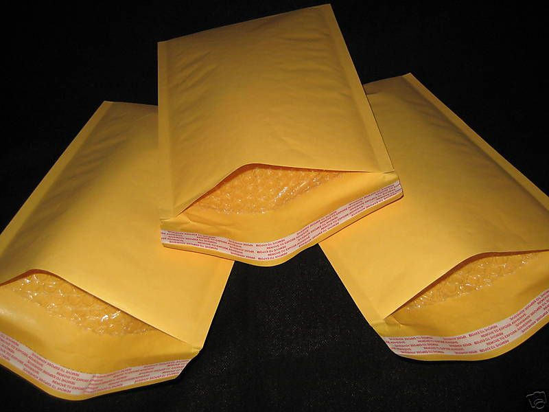 110 * 130 customs declaration CN22 kraft paper bubble envelope