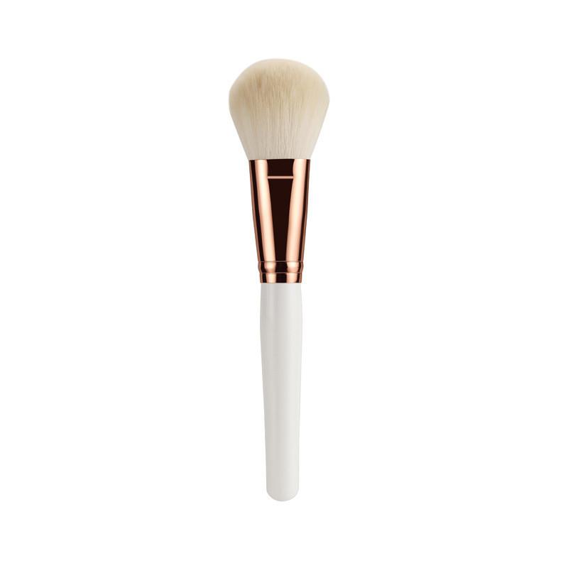2019 New Makeup Brush Kit Wood Handle Goat Hair Synthetic Hair with Makeup Bag