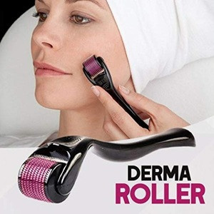 540 Titanium Micro Needles Derma Roller system for Home Use Facial Skin care