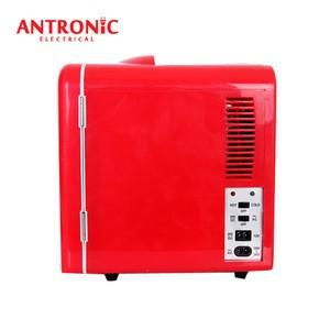 Antronic portable 4L mini fridge car fridge AC/DC version cooler warmer box