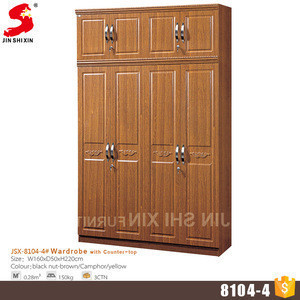 Import Home Furniture Wood Almirah Designs 4 Door Wardrobe Cabinet Cheap Modern Bedroom Mdf Wardrobe With Mirror From China Find Fob Prices Tradewheel Com