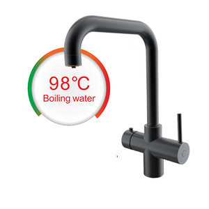 LED touch screen instant hot water dispenser with cooling touch tap