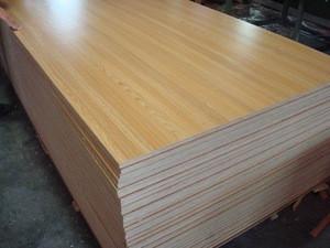 Melamine board