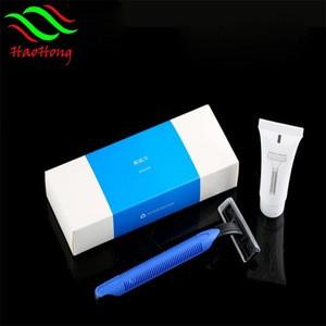 New design hot sale cheap twin blades disposable schick shaving razor for hotel