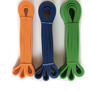 New design  natural latex resistance bands double color power rubber pull up bands gym workout