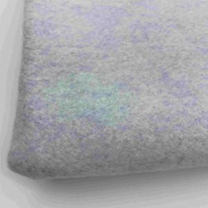 New Trend Fashion White Cotton Polyester Garment Rib Knit Fabric