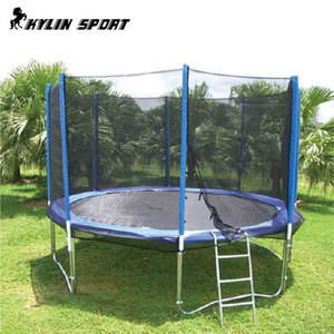 Outdoor Kids Gymnastic Fitness Trampoline With Safety Net