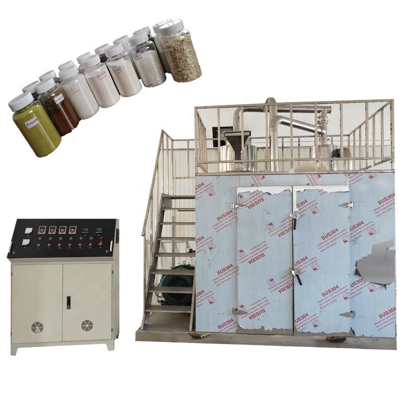 Paraffin wax pulverizer petroleum wax cryogenic  grinder paraffine powder flour mill petrolatum powder making machine