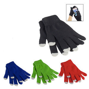 Tech Touch Gloves With Silver Coated Nylon Fibre Tips for Smartphones Tablets