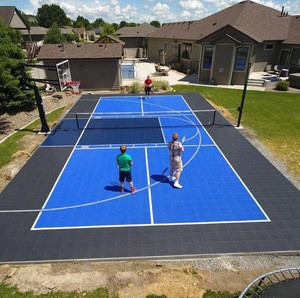 Temporary interlocking plastic PP material outdoor volleyball court flooring