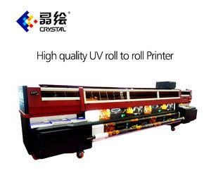 The Factory Digital Glass wood Metal Ceramic Tile Phone Case Leather  3.2m UV Led Printing Machine Printer