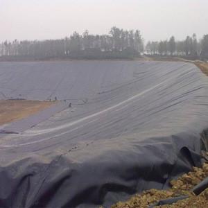 Waterproof hdpe geomembrane for bio gas plant plastic membrane