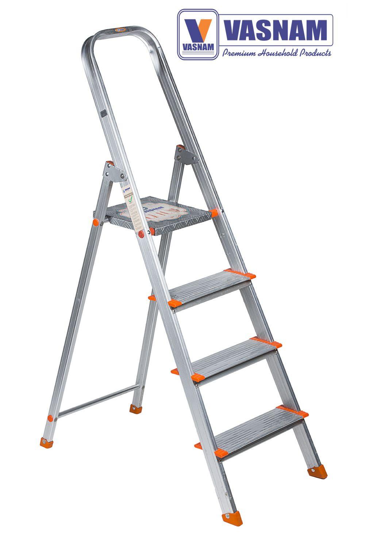 Vasnam Aluminium Ladder 3+1