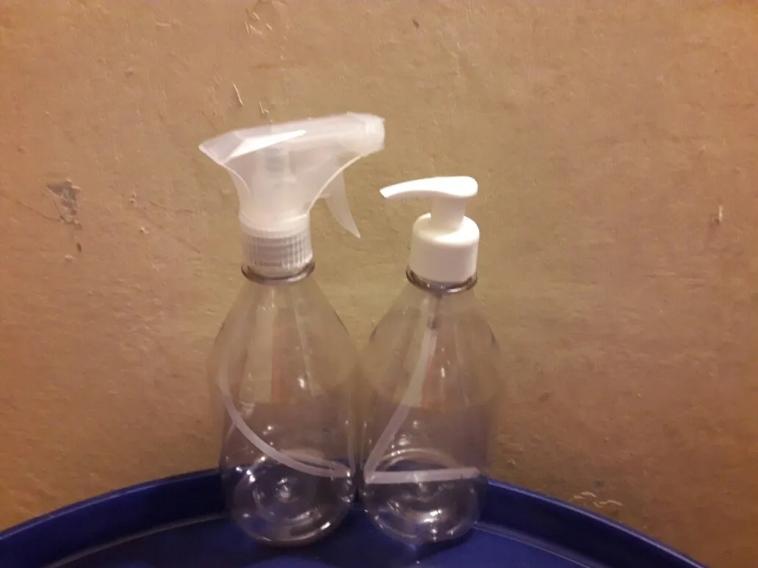 Empty Refillable Plastic Bottles/HDPE Empty Pet Bottle/2oz Reuseable Jel Bottle