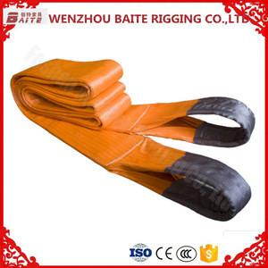 10 Ton Flat Polyester Webbing Sling Lifting sling factory price