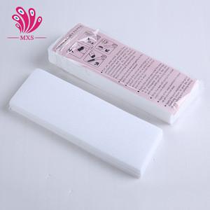 100 pcs Hair Removal Depilatory paper Nonwoven Epilator Wax Strip Paper Roll Waxing