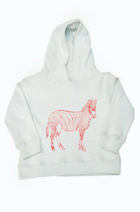 2017 Childrens embroidered hoodies & sweatshirts, unisex pullover hoodies, children's long organic cotton hoodies with zip