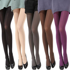 2020 Manufacturers wholesale ffashion women autumn and winter ladies 120D velvet pantyhoses snagging resistance stockings