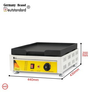 220V Electric commercial electric griddle and electric grills & electric griddles with CE