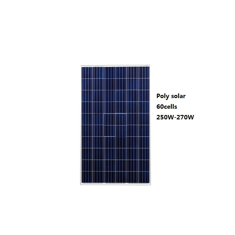 60cells, 5BB solar cells  high efficiency solar panels, Polycrystalline silicon260w 270W made in China /MA