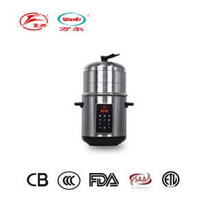 6in1 digital 304 stainless steel electric food steamer