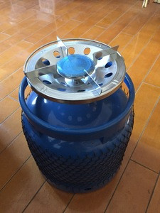 6Kgs empty Gas Cylinder for camping cooking
