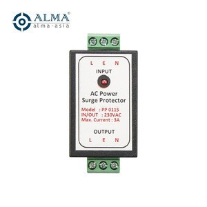 AC 230v Power Supply Surge Protector Lightning Arrestor for Auto Gate , Alarm System and Cctv
