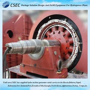 Alternative Energy Pelton Water Turbine Generation