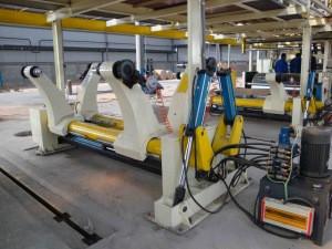 Automatic corrugated carton box making machine/production line