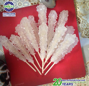 Cheaper traditional most popular rock sugar candy with wooden stick