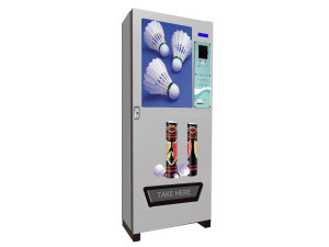 China factory modern design automatic shuttlecock vending machine