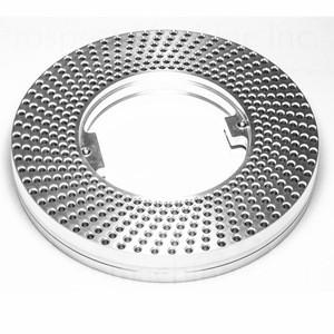 Customized CNC aluminum SUS AISI steel turning parts ring capsule filler machine parts