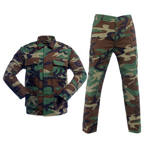 Customized Military Army Uniforms Polyester Cotton Mix high quality Fabric