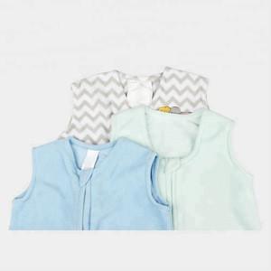 Customized polar fleece sheepskin Soft wearable Baby Sleeping Bag