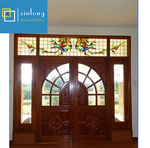 Decoration 6mm thickness stained glass sheet for building glass