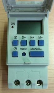 Din Rail Digital Timer switch AHC15A