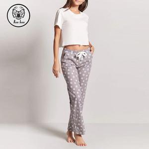 Dongguan Manufacturer Hot Sale Custom Plain Pajama Pants