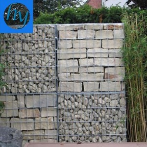 Erosion Control Gabion Box Retaining Wall/ PVC Coated Galvanized Gabion