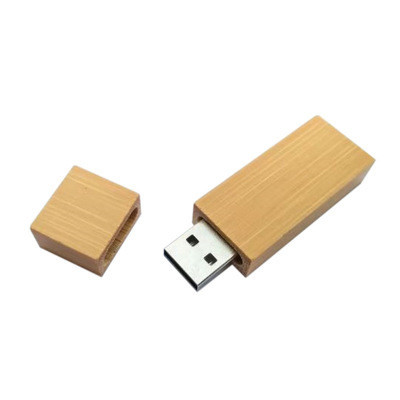 Factory Promotion Recycle Wood Bamboo USB Flash Stick Flash Drive With Free Laser Customized Logo