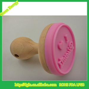Food Grade Silicone Bakeware Cookie Tools, Silicone Cookie Biscuit Stamps,silicone stamp