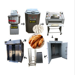 Full Automatic Complete Set French Baguette Sandwiches Production Line/Industrial Bread Making Machine