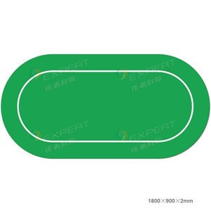Gambling mat,mahjong mat,oval gamble mat