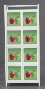 Kitchen Multi-Patterned Multi-Functional Storage Cabinet