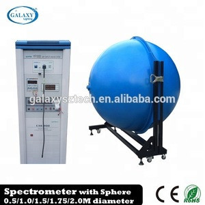 Leading Spectrometer with integrating sphere for LED lumen measurement of lamps and luminaires