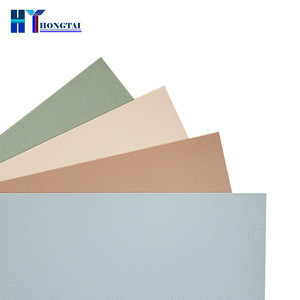 Morden Hard Vinyl Laminated Wall Panel High Impact ABS Decorating Wall Board for Hospital and School
