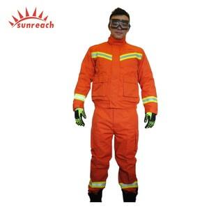 Nomex IIIA Rescue Fire Fighting Uniform Suit