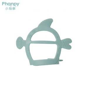 Phanpy Animal Silicone Teethers Unique Design Baby Teether Toy Food Grade BPA Free Infant Teething Toys