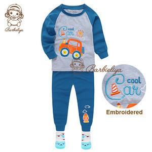 PJS kids nightgown lounge wear children sleepwear